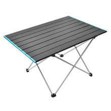 Outdoor ultralight aluminum folding tables camping picnic portable barbecue desk self-driving fishing leisure furniture MJ710(China)