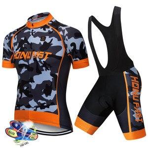 Image 4 - Conjunto de Ropa para ciclismo para hombre, Ropa de verano del 2020 para carreras, traje transpirable para ciclismo de montaña o carretera