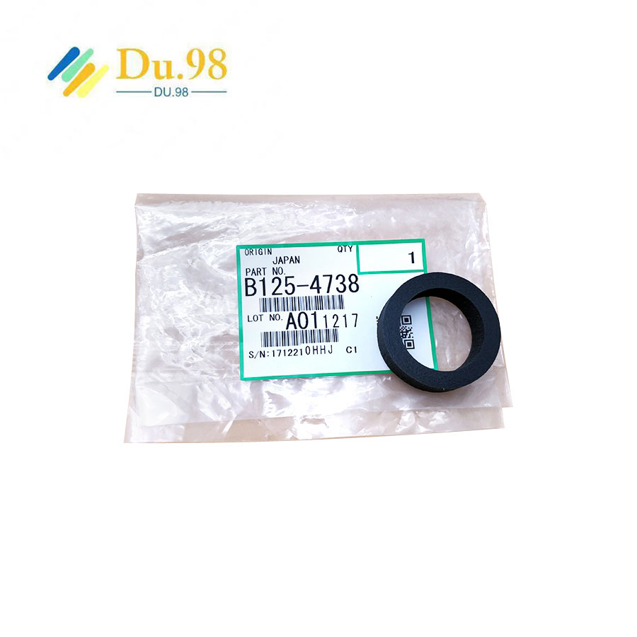 1PC Genuine Original B125-4738 PVA Sponge wheel roller set for Ricoh 2400 2401 3600 <font><b>3601</b></font> 6020 7050 240W 470W 480W rubber wheel image