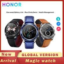 Honor Horloge Magic Smartwatch Global Versie Gps Waterdicht Hartslag Tracker Sleep Tracker Werken 7 Dagen Bericht Herinneren