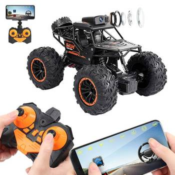 C023 RC Car 2.4G 720P WIFI FPV HD Camera SUV 1:18 4WD Off-road High-speed Remote Control Drift Climbing Childrens Toys