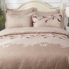 Роскошный комплект постельного белья с вышивкой пододеяльник