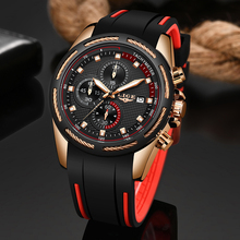 2020 New Luxury Brand LIGE Men Military Sports Watches Men's Quartz Date Clock M
