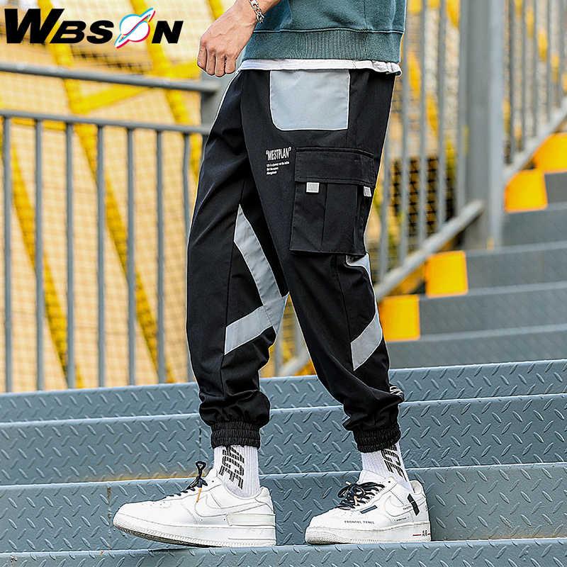 Wbson Jogger Track Pants Pantalones Hip Hop Para Hombre Pantalones Casuales Moda Hombre Overoles Hombre Streetwear Kxpk123 Pantalones Informales Aliexpress