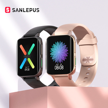 SANLEPUS 2021 NEW Bluetooth Calls Smart Watch Men Women Waterproof Smartwatch MP3 Player For OPPO Android Apple Xiaomi Huawei cheap CN(Origin) Android OS On Wrist All Compatible 128MB Passometer Fitness Tracker Sleep Tracker Message Reminder Call Reminder