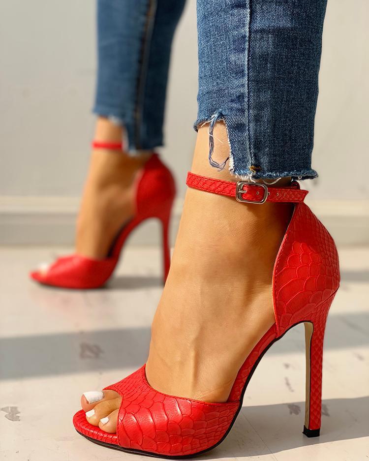 Women's Summer Fashion Increased Stiletto High Heel Super High Heel Sexy Exquisite High Heels 789