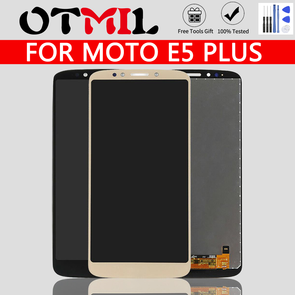 OTMIL For Motorola E5 Plus XT1924 LCD Display With Frame Touch Screen Digitizer Assembly Replacement Parts For Moto E5 XT1944