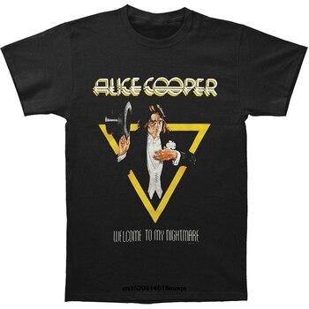 Camiseta de Alice Cooper para hombre, camiseta de bienvenida a mi pesadilla,...