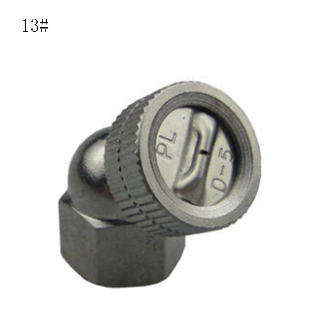 M14x1.5 Silver Agricultural Mist Spray Nozzle Connector Thread Garden Water Sprinkler Irrigation Spray Nozzle