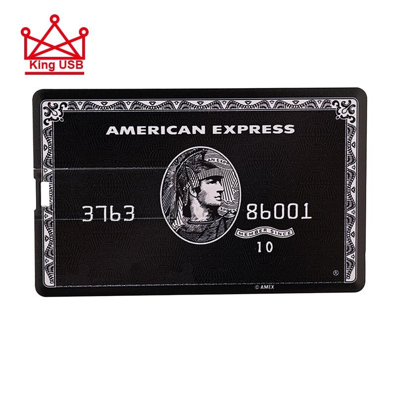 Credit Card Master Visa Cards HSBC American Express USB Flash Drive Pen 64GB 32G 8G 16G Usb Bank Card Memory Sticks Drive Pen
