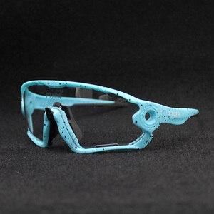 Image 2 - Hot Sale Clear Photochromic Cycling Sunglasses Sports Sunglasses Men Women MTB Road Bicycle Cycling Glasses Eyewear