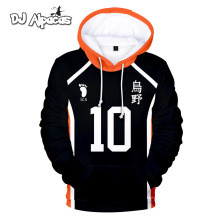 Anime Haikyuu Cosplay Costumes Hinata Shouyou Jersey Hoodies