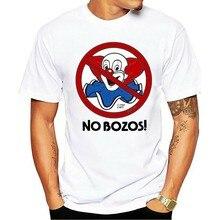 Novo 2021 camiseta sem bozos logotipo do palhaço branco eua tamanho s m l xl 2xl 3xlen1 roupa