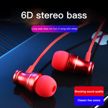 все цены на Wired Earphone 3.5mm In-Ear Sport Headset With Microphone Music Earbuds Stereo Gaming Earphone For iPhone Huawei Honor Xiaomi