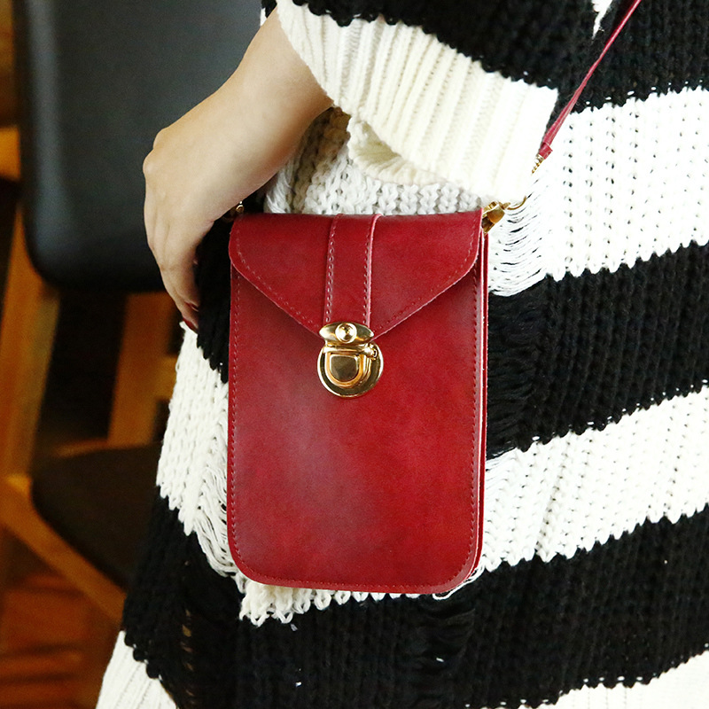 Crossbody Bags For  Women Messenger Bags   Mini Small Square Bag Leather PU Envelope Wallet Shoulder Bag Leisure Phone Bag
