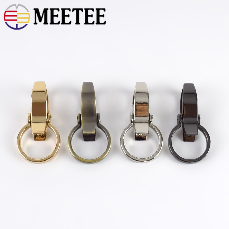 Meetee 4 10pc ID25mm Metal Bags Strap Buckles Lobster Clasp DIY Dog Collar Clip Snap Hook Keychain Hardware Part Accessory BF055 in Buckles Hooks from Home Garden