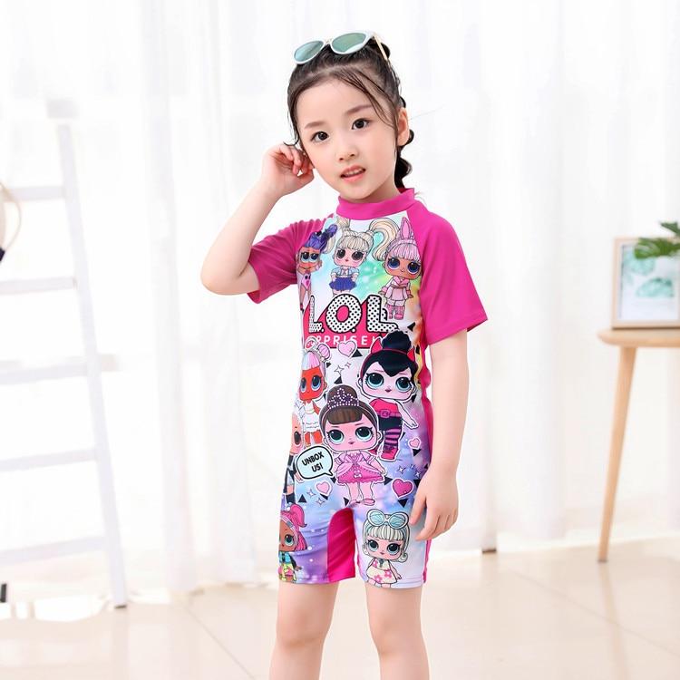 Cartoon KID'S Swimwear Cute Girls Swimwear One-piece Baby Quick-Dry Children GIRL'S Swimwear