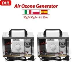 Générateur d'ozone d'air de l'ue 50 g/h 220V 30 g/h purificateur d'air stérilisateur ozonateur Portable ozoniseur nettoyant stérilisateur avec commutateur de synchronisation