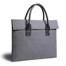 Тонкий мужской и женский портфель для ноутбука 11 12 15 156