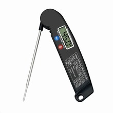 Folding Digital Food Thermometer Probe Grilled BBQ Meat Thermometer Multi Digital Instant Read Accurate Kitchen Cooking Tools ch 102 foldable instant read digital meat thermometer
