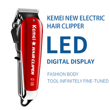 Kemei-2609 Professional Barber Hair Clipper Powerful Machine Hair Trimmer For Men Electric Cutter 9W Hair Cutting Machine 2611 kemei barber powerful hair clipper led professional hair trimmer for men electric cutter hair cutting machine haircut salon tool