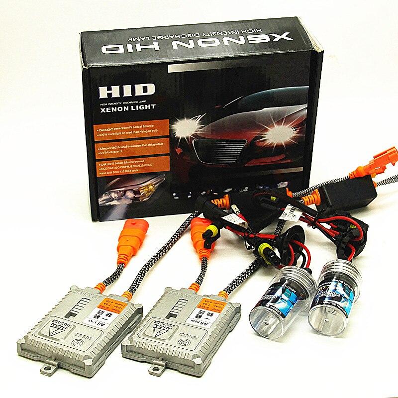 AC 55W H4 HID Xenon Light Bulb 12V H1 H3 H7 H11 9005 9006 4300k 6000k 8000k 10000k Auto Xeno 880 881 9012 9004 Headlight Lamp