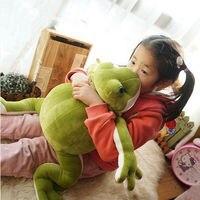 70cm Big Anime Frog Green Plush Soft Toys Animals Stuffed Doll Kids Favor Gift Cute Plush Toys for Children