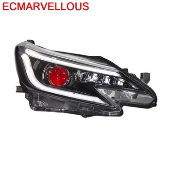 Parts Automobiles Luces Para Auto Drl Daytime Exterior Lamp Led Running Headlights Rear Car Lights Assembly 14 FOR Toyota MARK X