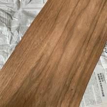 Folheado claro genuíno natural da mobília do folheado de madeira da noz cerca de 30cm 25cm 20cm x 250cm 0.25mm grosso c/c