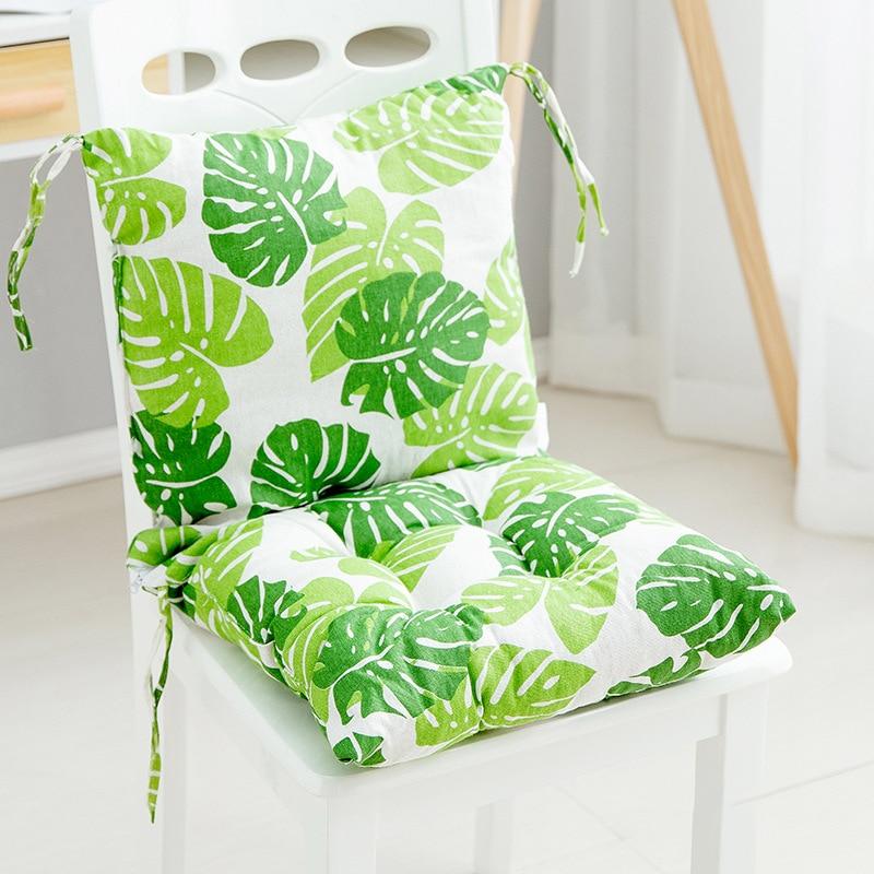 Домашний стул подушки, диван толстая хлопковая Подушка зимняя спальня теплый обеденный стул печатные подушки для дома декоративные подушк...