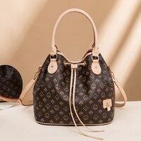 Luxus Neue Große Kapazität Eimer Tasche Frauen Handtasche der frauen Tasche Einzigen Schulter Umhängetasche Handtasche Frauen Designer