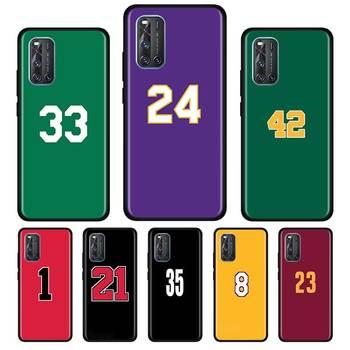 Перейти на Алиэкспресс и купить Мягкий силиконовый чехол Basketball 23 24 Lucky Number для Vivo S1 Y15 Pro Y12 Y17 Y19 Y30 Y50 V19 Z6 5G iQOO Z1 3 5G чехол