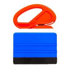 Инструмент для тонировки окон автомобиля, виниловая пленка, скребок для автомобиля, скребок из углеродистой фольги, пленка для наклеек, резак, нож, аксессуары для тонировки автомобиля