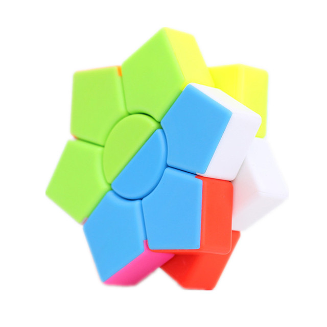 Jiehui Hexagram two-layer Square Hexagon Speed Magic Cube Twist Puzzle Educational Colorful Puzzle Professional 6