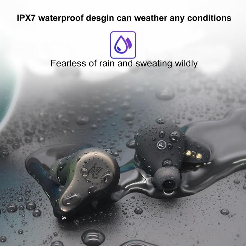 Mifo O7 ipx7 Waterdichte Mini Stereo Touch Koptelefoon Draadloze Oordopjes Bluetooth 5.0 Handenvrij Ondersteuning Apt x Voor iPhone Samsung - 4