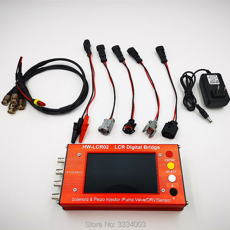 AM-LCR Common Rail Injector Tester Can Test Inductance And Resistance Of Electromagnetic Injectors, EUI/EUP, ZME And DRV