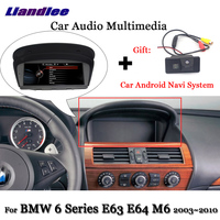 Car Android Multimedia For BMW 6 Series E63 E64 M6 2003 2007 2008 2009 2010 Stereo WIFI Radio Touch Screen GPS Navigation System