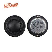 GHXAMP 25 ミリメートルツイータースピーカー小型高音ユニット絹フィルム膜 8OHM 5 ワット