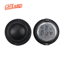 GHXAMP 25MM Tweeter Speaker Small Treble unit silk film membrane 8OHM 5W
