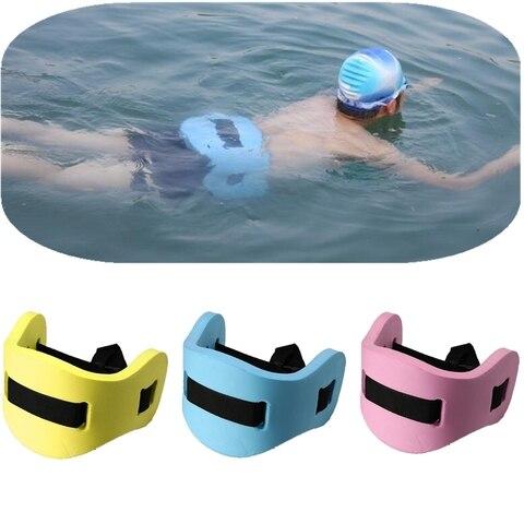 Ajustável de Volta Cinto de Natação Flutuante Espuma Placa Cintura Equipamentos Treinamento Colchão ar Adulto Crianças Nadar Prática Float Board Eva