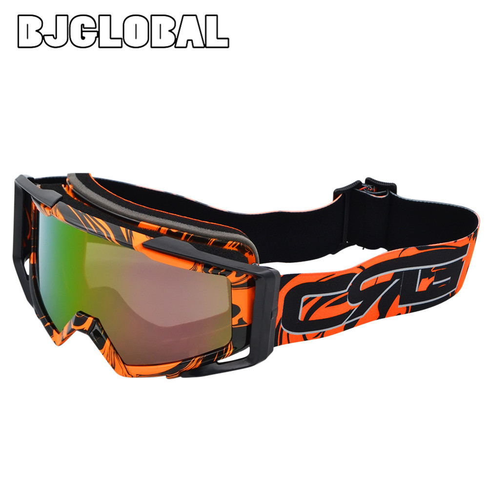 Gafas de carreras de motos BJGLOBAL a prueba de polvo bicicleta Motocross al aire libre Goggle gafas de motocicleta Lunettes oculares