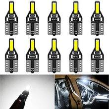 Lâmpada de leitura para interior de carro, led t10 w5w 168 194 led, luz de leitura para mazda 2 3 5 6 626 CX-5 com 10 peças CX-9 mpv MX-5 miata RX-8 homenagem millenia