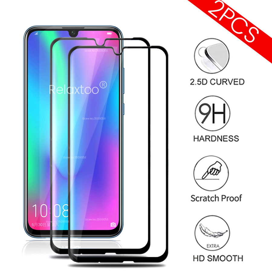 2PCS Glass On Honor 10 Lite Light 10Lite 10Light Lite10 Protective Glasses For Huawei Honor 10i 10 I I10 Honor10i Honor10Lite