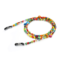 High-level Handmade of the Simple Vintage Casual  Colorful Beads For Adjustable Sunglasses Chain 75cm Da Guan Optical