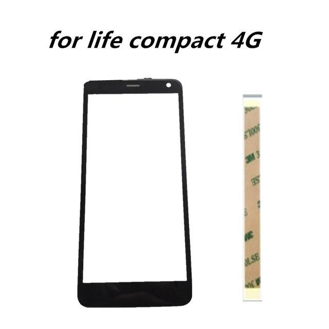 5.0 インチフライ生活コンパクト 4 グラムガラスタッチパネルタッチスクリーンデジタイザフライ生活コンパクト 4 3g 携帯電話