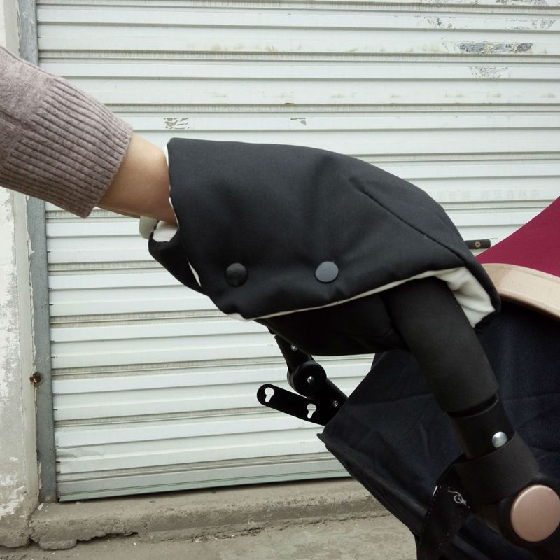 Winter Warmer Mittens Pram Hand Muff Waterproof Baby Stroller Fingerless Gloves