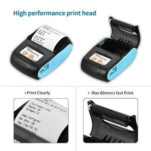 Image 3 - SDK gratuito 58 millimetri Stampante Bluetooth Mobile Portatile Senza Fili di Bluetooth Mini Stampante Termica per ricevute Supporto Android iOS phone