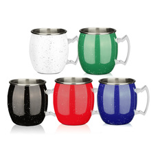 Colorful Stainless Steel Portable Mug Cup Travel Tumbler Stirring Coffee Mug Tea Cup  500 ML mug remember florina 330 ml