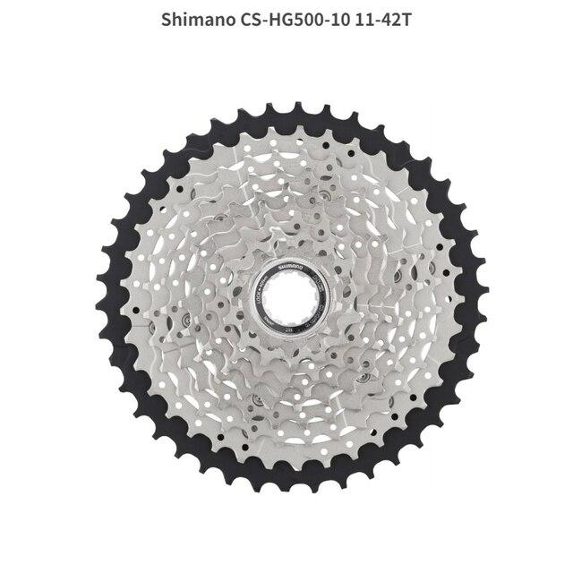 Shimano Tiagra CS HG500 Cassette M6000 Flywheel 10 Speed 11 25 28 32 34 42T MTB