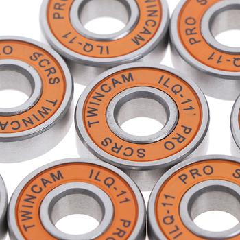 10 Pcs Stainless Bearings Performance Roller Skate Scooter Skateboard Wheel 10pcs lot abec 7 608zz shafts stainless steel bearings roller scooter ball bearings skate skateboard wheels silver bearings